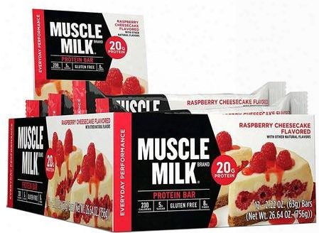 Cytosport Muscle Milk Red Bar - Box Of 12 Almond Cookie