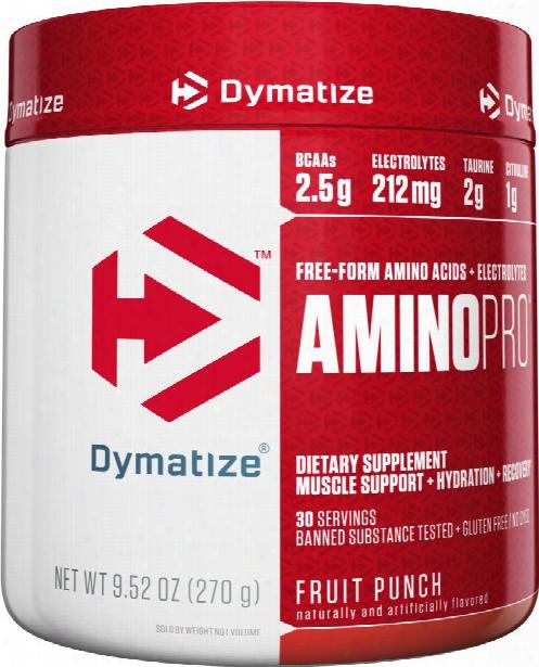 Dymatize Amino Pro - 30 Servings Fruit Punch