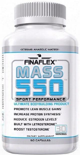 Finaflex Mass 550 - 60 Capsules