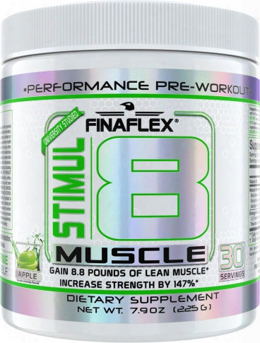 Finaflex Stimul8 Muscle - 30 Servings Apple