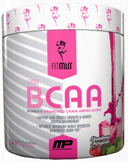 Fitmiss Bcaa - 30 Servings Strawberry Margarita