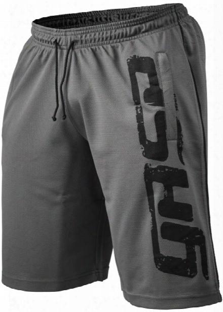 Gasp Pro Mesh Shorts - Grey Medium