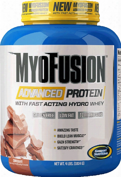 Gaspari Nutrition Myofusion Advanced - 2lbs Milk Chocolate