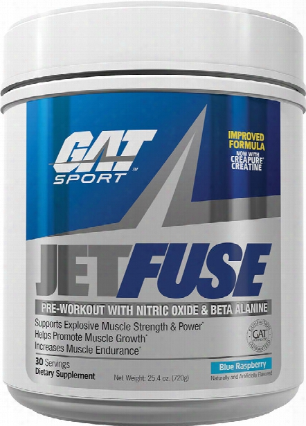 Gat Sport Jetfuse - 30 Servings Blue Raspberry