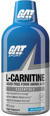 Gat Sport L-carnitine 1500 - 16oz Blue Raspberry