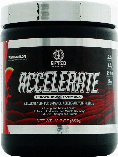 Gifted Nutrition Accelerate - 30 Servings Fruit Punch