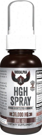 Imsoalpha Hgh Spray - 1 Oz