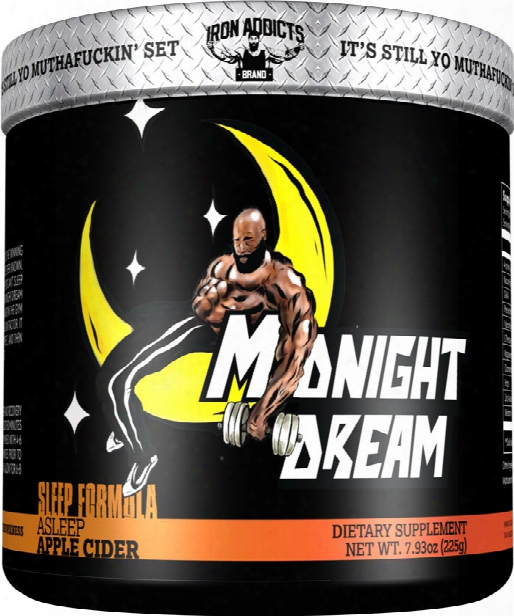 Iron Addicts Midnight Dram - 30 Servings Apple Cidar