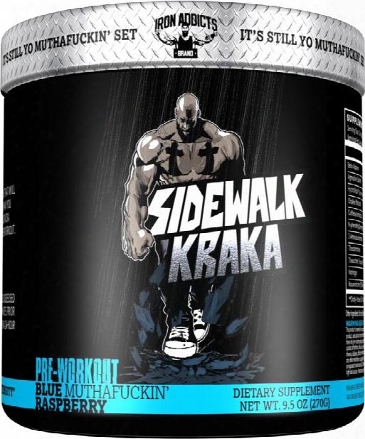 Iron Addicts Sidewalk Kraka - 30 Servings Blue Muthaf*ckin Raspberry