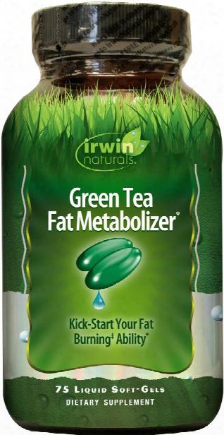 Irwin Naturals Green Tea Fat Metabolizer - 75 Softgels
