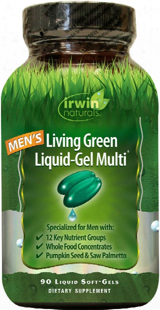Irwin Naturals Living Green Multi For Men - 90 Softgels