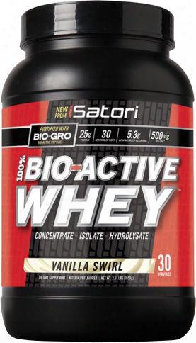 Isatori 100% Bio-active Whey - 2.33lbs Vanilla Swirl