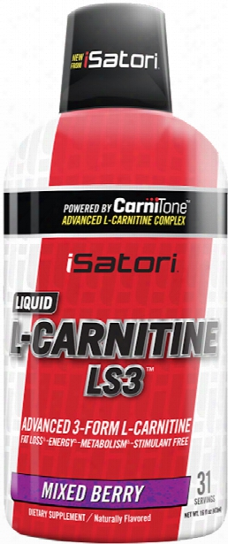 Isatori L-carnitine Ls3 - 16oz Mixed Berry