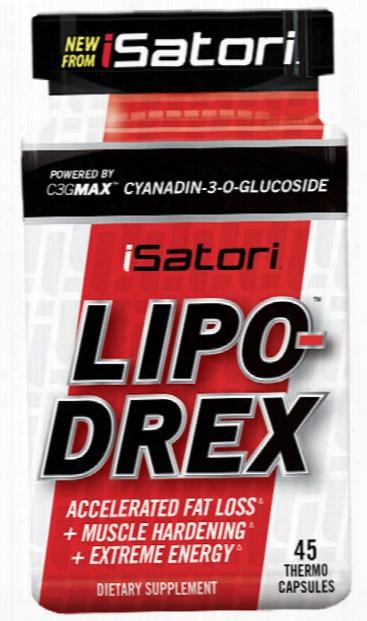Isatori Lipo-drex - 45 Capsul Es