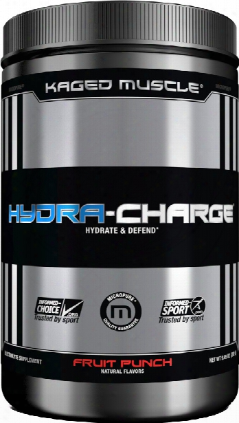 Kaged Muscle Hydra-charge - 60 Serivngs Fruit Punch