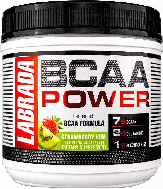 Labrada Nutrition Bcaa Power - 30 Servings Strawberry Kiwi