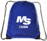 Logo Drawstring Bag - 1 Blue Bag