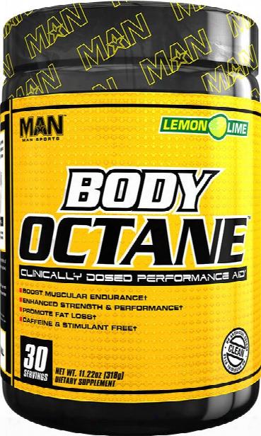 Man Sports Body Octane - 30 Servings Lemon Lime