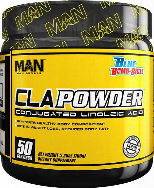 Man Sports Cla Powder - 50 Servings Blue Bomb-sicle