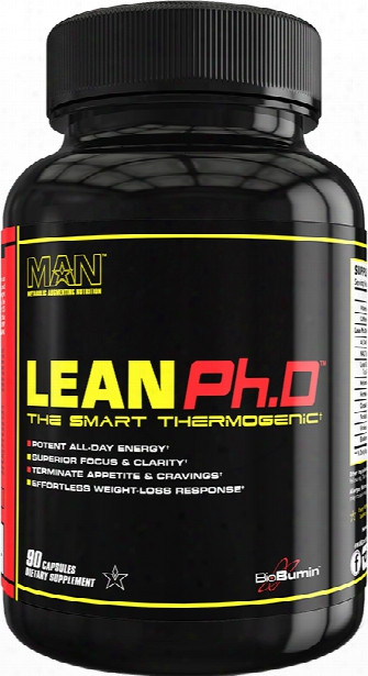 Man Sports Lean Ph.d - 90 Capsules