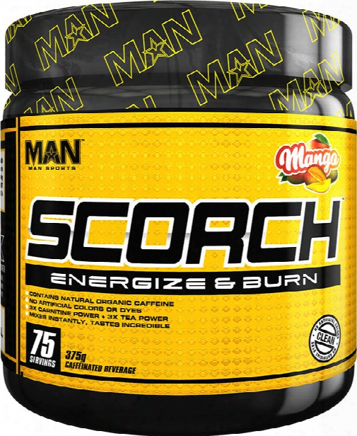 Man Sports Scorch Powder - 75 Servings Mango
