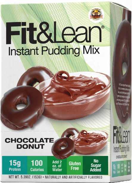 Mhp Fit & Lean Protein Pudding - 6 Pack Chocolate Donut