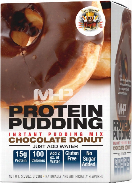 Mhp Protein Pudding - 6 Pack Chocolate Donut