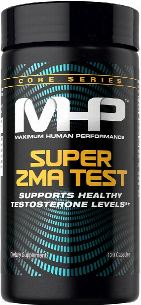 Mhp Super Zma Test - 120 Capsules