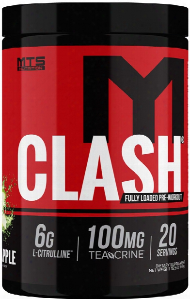Mts Nutition Clash - 20 Servings Green Apple