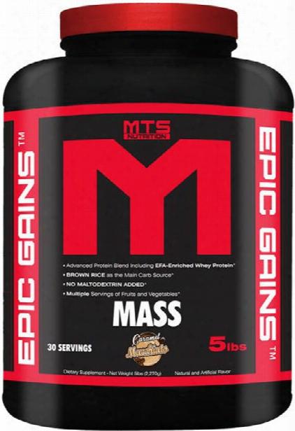 Mts Nutrition Epic Gains - 5lbs Caramel Macchiato