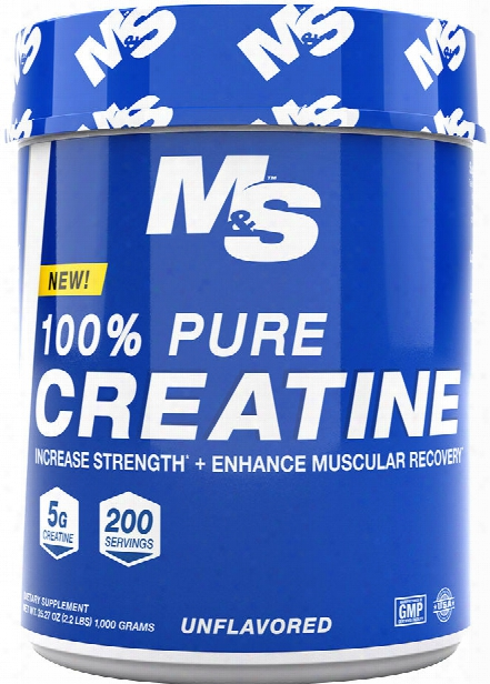 Muscle & Strength 100% Pure Creatine - 1000g