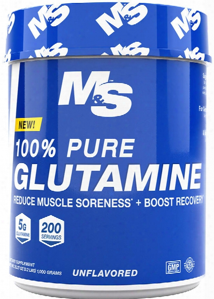 Muscle & Strength 100% Pure Glutamine - 1000g