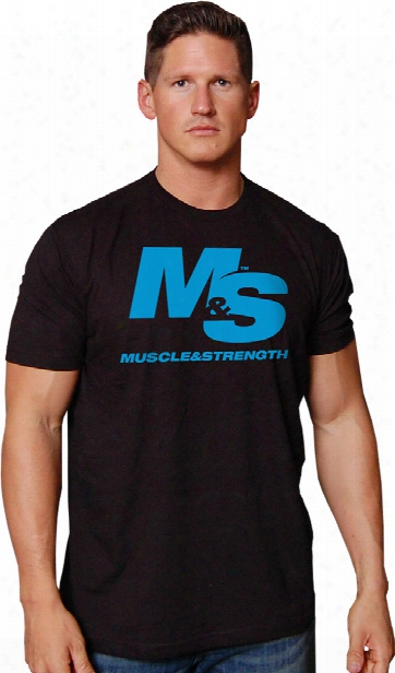 Muscle & Strength You Get Stronger T-shirt - Black Large