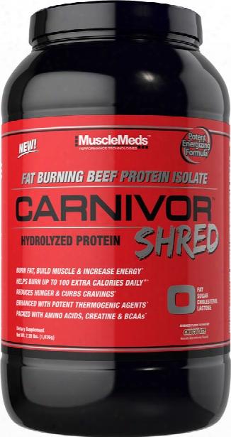 Musclemeds Carnivor Shred - 28 Servings Chocolate