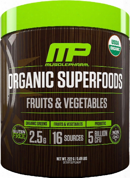 Musclepharm Natural Series Natural Series Organic Superfoods - 30 Serv