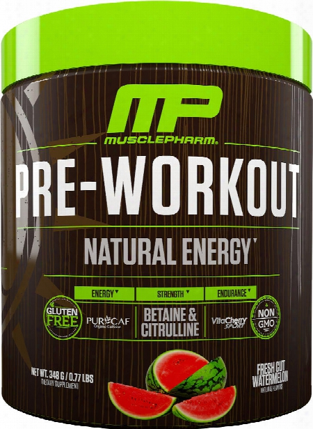 Musclepharm Natural Series Natural Series Pre -workout - 30 Servings Wa