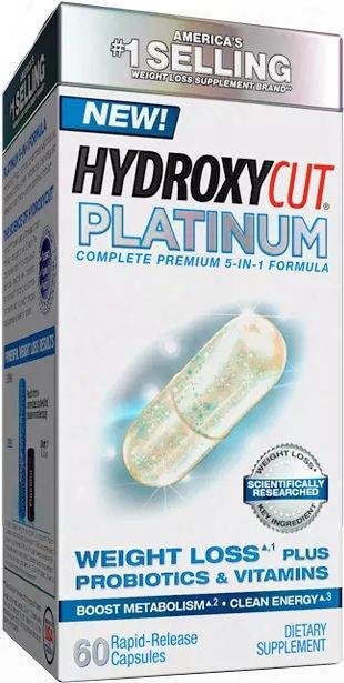 Muscletech Hydroyxcut Platinum - 60 Rapid Release Capsules