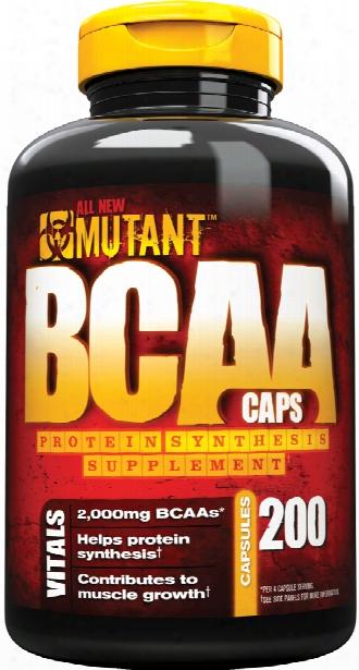 Mutant Bcaa Caps - 200 Capsules