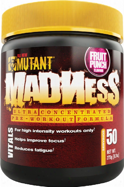 Mutant Madness - 50 Servings Fruit Punch