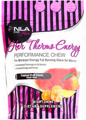 Nla For Her Her Thermo Energy Performance Chews - 30 Servings Tropical