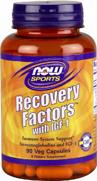 Now Foods Recovery Factors With Igf-1 - 90 Vcapsules