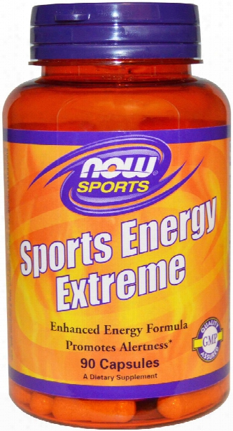 Now Foods Sports Energy Extreme - 90 Capsules