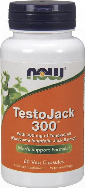 Now Foods Testojack 300 - 60 Vcapsules
