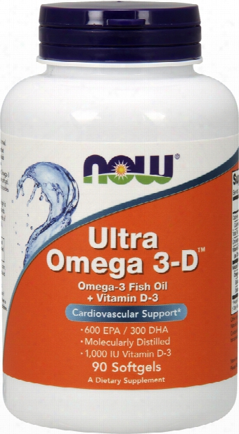 Now Foods Ultra Omega 3-d - 90 Softgels