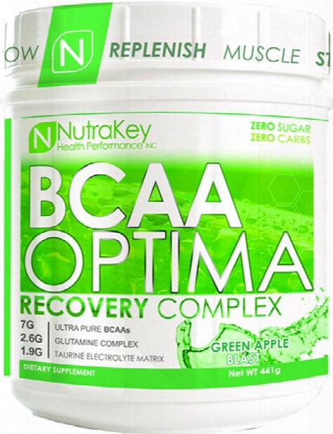 Nutrakey Bcaa Optima - 30 Servings Green Apple Blast