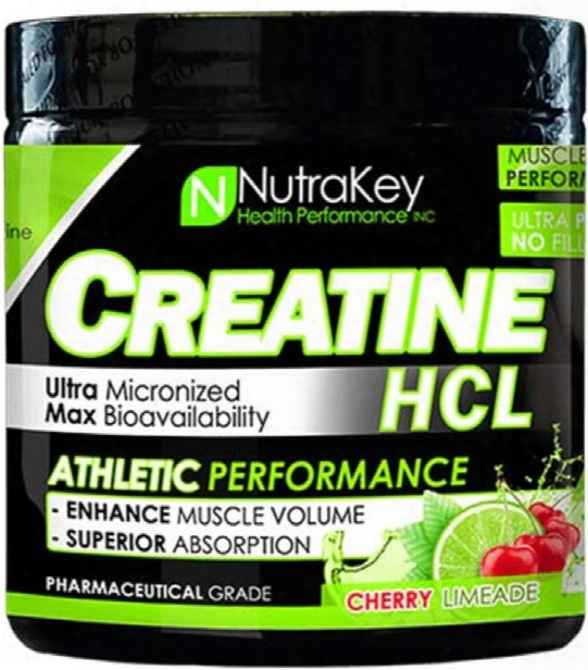 Nutrakey Creatine Hcl - 125 Servings Cherry Limeade