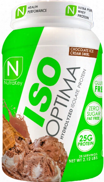 Nutrakey Iso Optima - 2.3lbs Chocolate Ice Cream Swirl