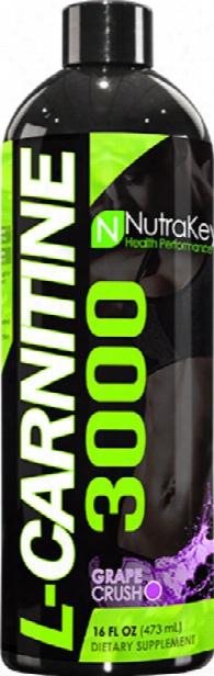 Nutrakey L-carnitine 3000 - 16oz Grape