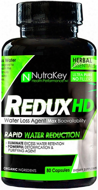 Nutrakey Redux Hd - 80 Capsules