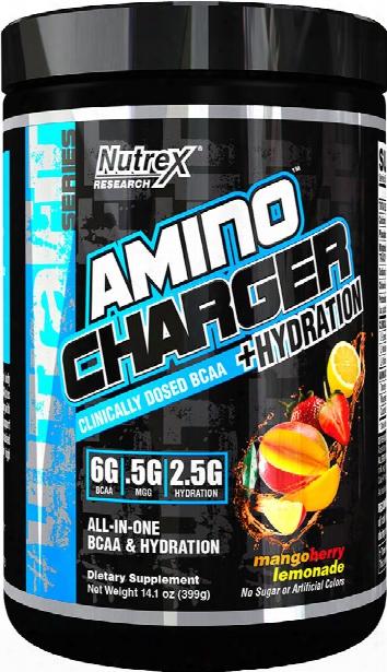 Nutrex Amino Charger Plus Hydration - 30 Servings Mango Berry Lemonade